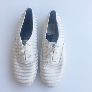 Keds Gold Stripe Sneakers 8